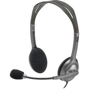 Headset-P2-Com-Fio-Logitech-H111-981-000612